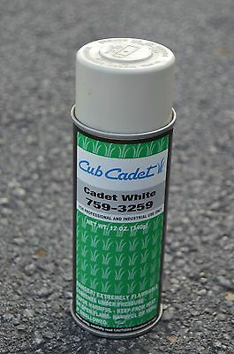 Cub Cadet White Spray Paint (Used from 1961-1989) 12oz. can  759-3259