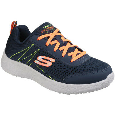 Skechers Boys Burst Second Wind Breathable Mesh Active Trainers