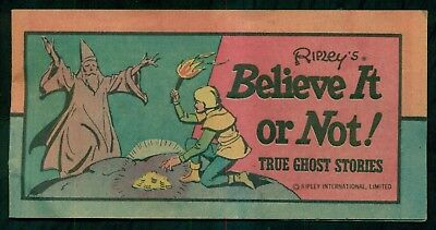 1977 Ripley's Believe It or Not No.1 Comic Booklet - Western Publishing