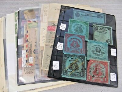 US, Wonderful Accumulation of Revenue Stamps in stock sheets & others