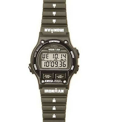 Watch Timex Ironman TW5K98100 red and black fashion silicone digital sport 8lap