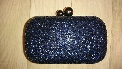 "Bijou Brigitte Clutch-Box Blue Darling ""NEU"""