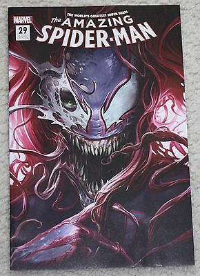 Amazing Spider-Man 29 Francesco Mattina Mary Jane Venom Open Eye Logo Variant !!