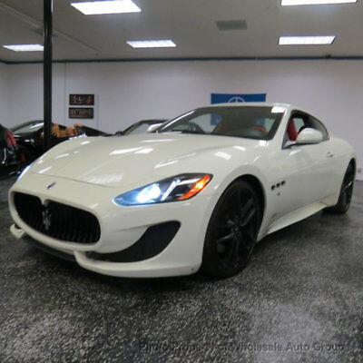 2015 Maserati Gran Turismo 2dr Coupe Sport CARFAX CERTIFIED . FULLY LOADED. MINT CONDITION. VIEW IMAGES. CALL 954-744-1177