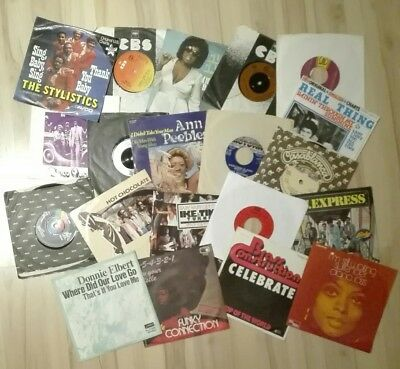 130 Soul Singles Lot - USA / UK Pressungen mit dabei