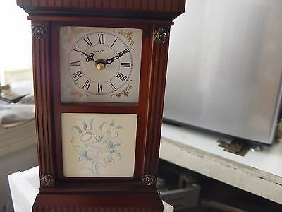 SETH THOMAS-Heirloom Collection-MWL1492-ELEGANT ANTIQUE MANTLE CLOCK-NEW