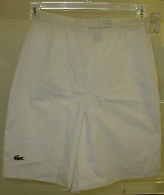 Women's vintage Lacoste Haymaker bermuda shorts w/ back right pocket size 12