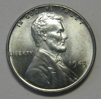 1943 Lincoln Wheat Cent in the CH BU Range Nice Coins DUTCH AUCTION