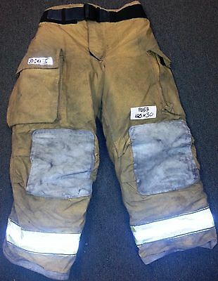 40x30 Pants Firefighter Turnout Bunker Fire Gear w/ Liner Globe Gxtreme P653