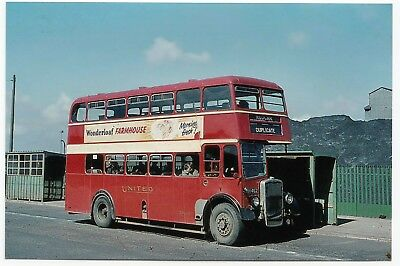 United Automobile Services Bus Bristol, Poss LHN 462  on Dupe Service To Redcar