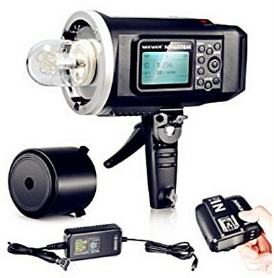 600W GN87 HSS Outdoor Flash Strobe Light with 2.4G Wireless System