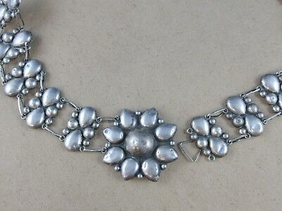 Vintage Mexico Sterling Silver Belt S-Hook Clasp 85.4 G Size 30