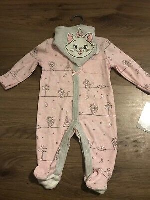 Disney Baby Aristocat Marie Baby Girl 2 Piece Set 0-3 Months