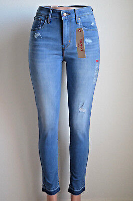 Levi's 721 High Rise Skinny Distant Landscape NWT Style 188820060