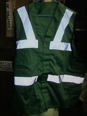 royal navy aircraft carrier deck crew surcoat in green excellent condition