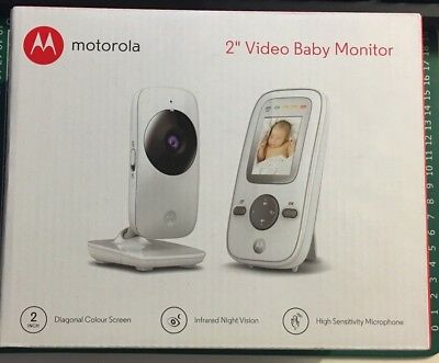 "Motorola MBP481 Digital Video Baby Monitor - 2"" Colour LCD Display Brand New"