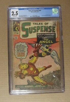 Tales of Suspense #49 (1964) CGC 2.5..1st X-Men x-over/Tales of the Watcher beg.