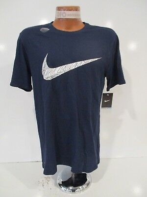 "NWT NIKE MEN/'S Dri-FIT  /""SETS MACHINE/"" T-SHIRT #AO4447  BLUE Sz:MED//LRG Msrp:$30"