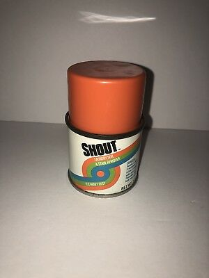 Shout Laundry Stain Remover vintage can collectible
