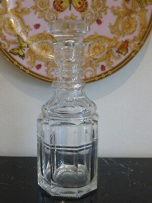 Vintage Nicely Cut Glass Decanter