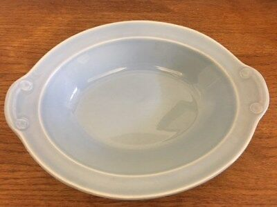 Vintage (1938-1960) LuRay T.S.& T. Pastels Blue Oval Vegetable/Serving Dish