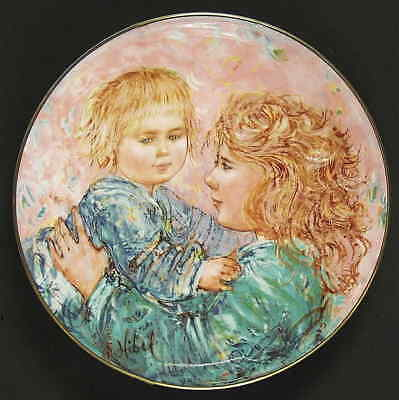 Royal Doulton MOTHER & CHILD PLATE Kathleen & Child