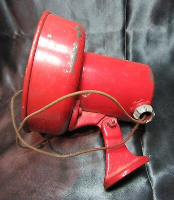 Vintage Auth Electric co. Inc. Signal Horn/Buzzer/Siren/Alarm, Tested Working