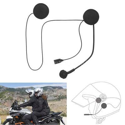 Bluetooth 4.0 Motorcycle Helmet Intercom Headset Stereo Mic Music Earphones V7E2