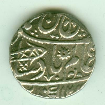 Bengal Presidency Silver Rupee-Lot A3