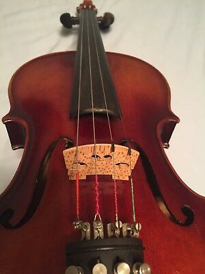 4/4 Size nice copy of ANTONIUS STRADIVARIUS CREMONEN Violin made in West Germany