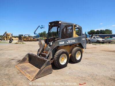 2011 John Deere 318D Skid Steer Wheel Loader Aux Hydraulics Low Hours bidadoo