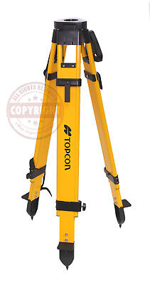 Topcon Heavy-Duty Fiberglass Tripod,Surveying,Trimble,Sokkia,Seco,Gps, Robotic