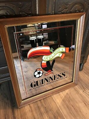 Guinness World Cup Ireland Toucan Soccer Mirror