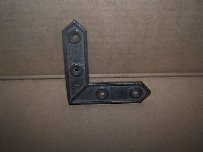 decorative antique iron corner bracket - No Reserve!