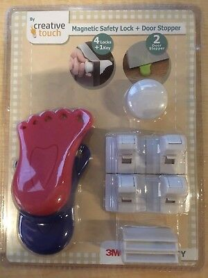Baby Safety Cabinet Locks, No Tools Needed! Magnetic Cabinet Locks Set and more