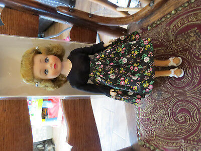 """Vintage 1958 American Character 10"""" Toni Doll Mint Condition in Original Outfit"""