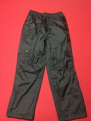 Mens Helly Hansen Hellytech Workwear Packable Lined Athletic Pant Sz Small Nice
