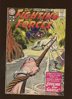 Our Fighting Forces 64 VF 7.5 * 1 Book Lot * DC War! Kanigher & Grandenetti!