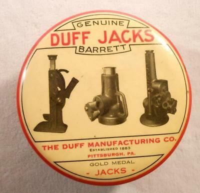 Vintage Celluloid Clothing Brush -Genuine Duff Gold Medal Jacks - Pittsburgh, PA