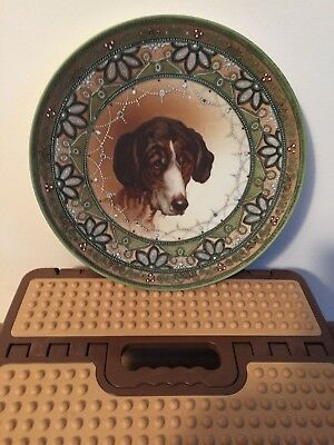 Antique Japanese Painted Plate