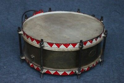 Music Corps Marching Drum_German_WW2 Time_Military_1930-40_Robert Barth (#3785)