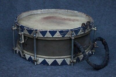 Music Corps Marching Drum_German_WW2 Time_Military_1920-30_Unmarked (#3786)