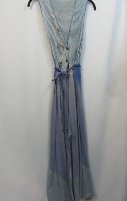 Vintage 30s Romper Jumpsuit Coveralls Beach Pants Deco AS IS STUDY ONLY Lounge