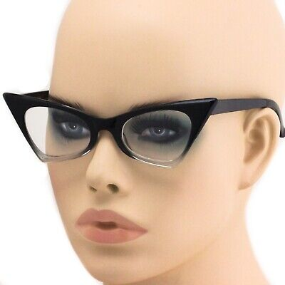 Cat Eye Ombre Gradient Frames Fashion Designer Clear Lens Glasses Eyeglasses New