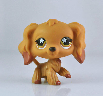 Littlest PET Toy Dog Spaniel Animal child girl boy figure loose cute LPS989