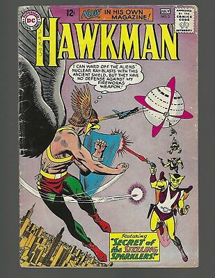 Hawkman #2 Secret Of The Sizzling Sparklers