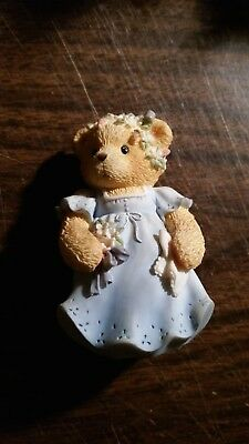 """Bear Figurine - Cherished Teddies - """"so Glad To Be Part Of Your Special Day"""""""