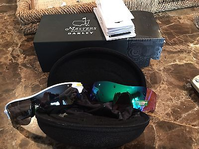 OAKLEY 2016 Augusta Masters Radarlock path. New in box. All accessories included