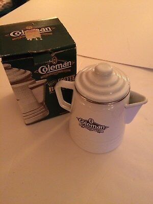 Vintage Coleman Sunshine Of The Night Coffee Broiler,new In Box,mint,,