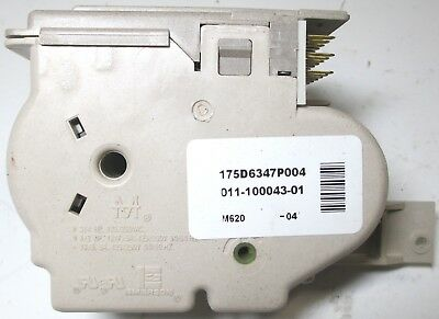 175D6347P004 GE WASHER TIMER - OEM ***FREE 1 YEAR WARRANTY*** l1